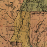 Lloyd's American railroad map.