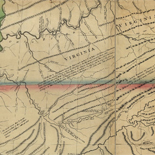 A new map of the western parts of Virginia, Pennsylvania, Maryland, and North Carolina