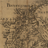 This map of the peninsula between Delaware & Chesopeak Bays, with the said bays and shores adjacent drawn from the most accurate surveys.