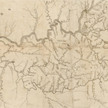 A map of Kentucky from actual survey