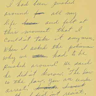About this Collection - Rosa Parks Papers | Digital Collections ...