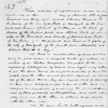 Agreement with Alfred Vail and others regarding development of the telegraph, March 1838.