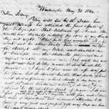 Letter, Samuel F. B. Morse to his brother Sidney Morse, May 31, 1844.