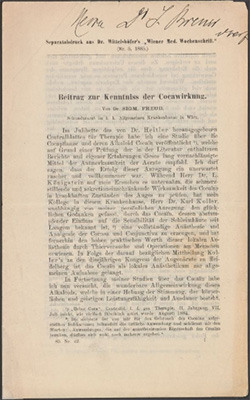 timeline sigmund freud papers digital collections library of  1884