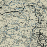 [January 1, 1945], HQ Twelfth Army Group situation map.