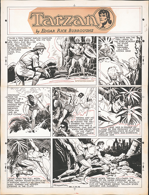 Tarzan: From Big Screen to Comic Strip