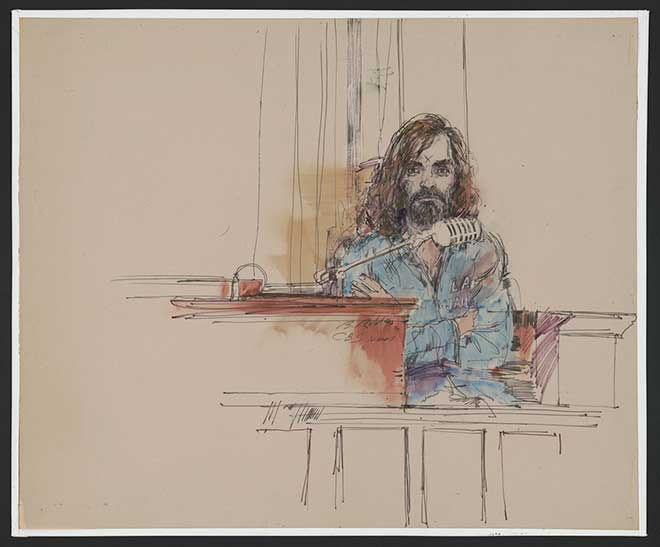 Charles Manson on the Stand