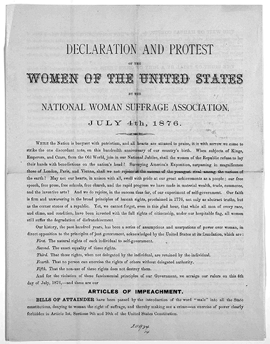 Essay On My Family In English Declaration And Protest Of The Women Of The United States By The National  Woman Suffrage Association July   Philadelphia  Thesis Statement Essay Example also Business Law Essays Today In History  January   Library Of Congress English Language Essays
