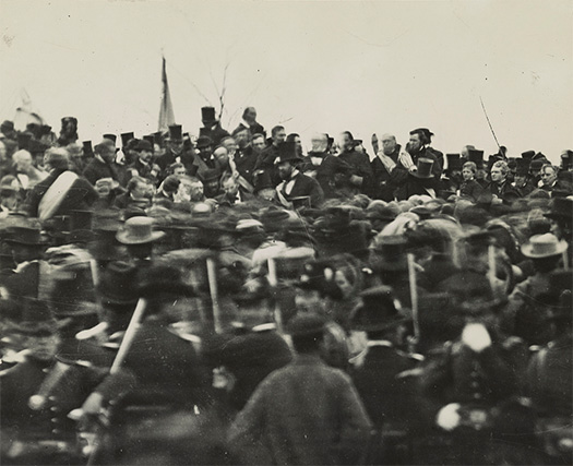 purpose of antithesis in gettysburg address Antithesis is opposition, or a contrast of ideas or words in a gettysburg address explanations of the rhetorical devices are on the next page.