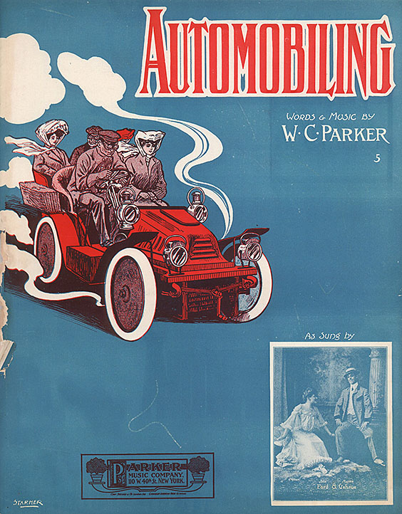 Music cover - Automobiling