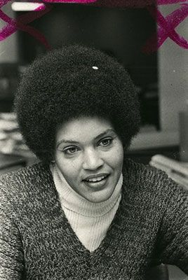 Charlayne Hunter-Gault, head-and-shoulders portrait
