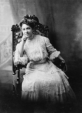 Mary Church Terrell, three-quarter length portrait