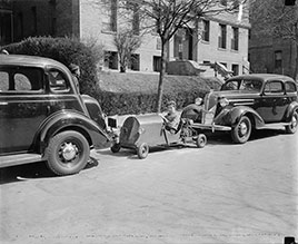 Washington youngster solves parking problem. Washington, D.C., March 30...1937