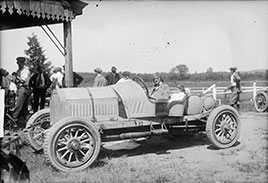 Racing car. Photo by National Photo Co., about 1915