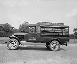 Truck: The Southern Automobile Supply Co. Photo by National Photo Co., 1910-1926