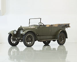 1918 V-8 Cadillac, used in World War I as a support vehicle for the American Expeditionary Forces in France...