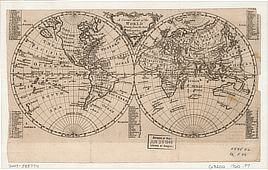 A correct map of the world drawn from the best discoveries