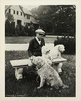 Sousa with dogs