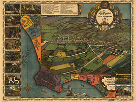 Los Angeles as it appeared in 1871.
