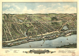 View of Windsor Locks, Conn., 1877