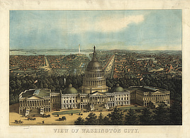 View of Washington City.