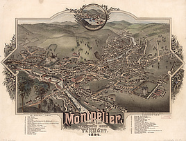 Montpelier, county seat of Washington County & capital of Vermont : 1884