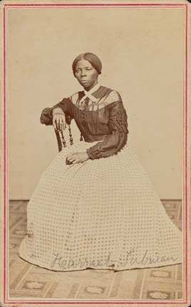 Portrait of Harriet Tubman/Powelson, photographer, New York.