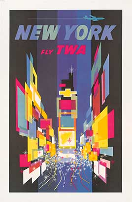 Fly TWA New York / David.