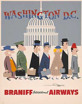 Washington, D.C. - Braniff International Airways