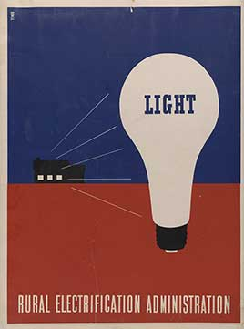 Light - Rural electrification administration / Beall.