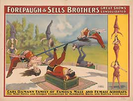 Forepaugh & Sells Brothers great shows consolidated...