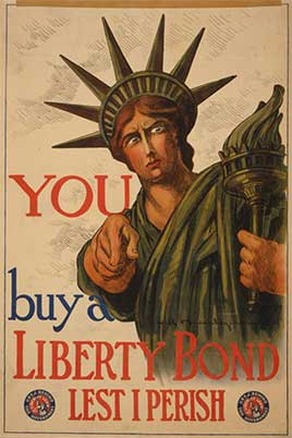 You--Buy a Liberty bond lest I perish / C.R. Macauley.