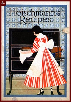"""Excellent Recipes for Baking Raised Breads,"" 1916"