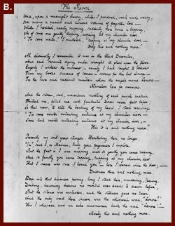"Edgar Allan Poe, ""The Raven."" [Facsimile of a manuscript] exhibited for the first time at Yale University Library in honor of the 150th birthday celebration of Edgar Allan Poe"